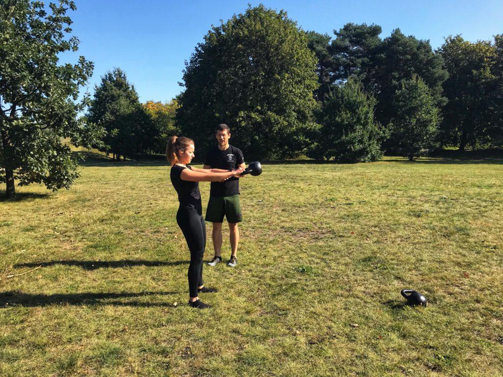 trening personalny gdańsk, kettlebell, wolne ciężary, siła biegowa
